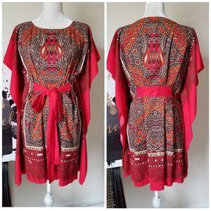 🌹 New Nine West Caftan Dress